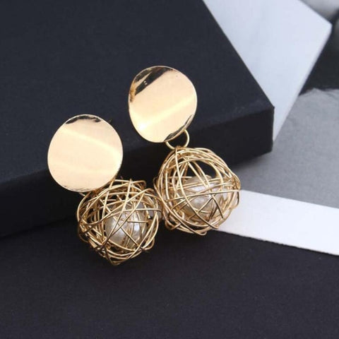 Gold  Earrings  -  Available in more styles