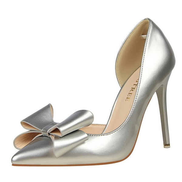 Side Hollow Pointed Women Pumps -More option!
