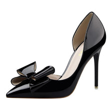 Load image into Gallery viewer, Side Hollow Pointed Women Pumps -More option!