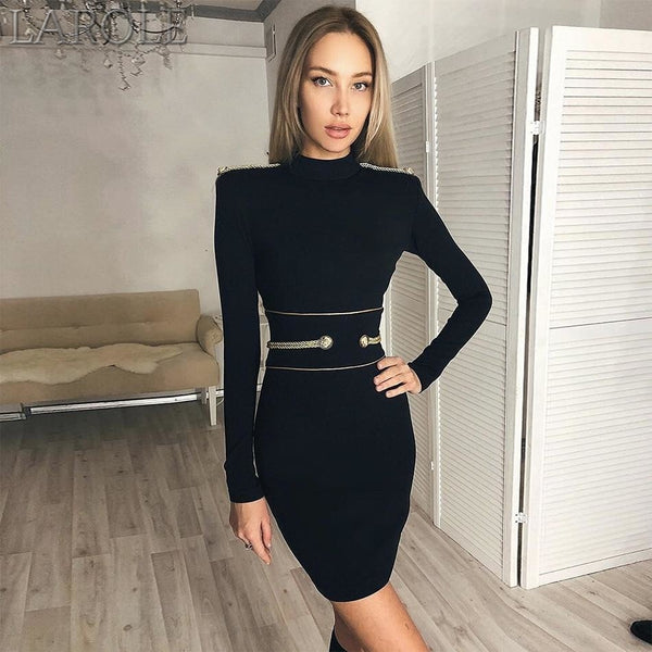 Newest Fashion Celebrity Party Bodycon Bandage Dress - More Colors Are Available
