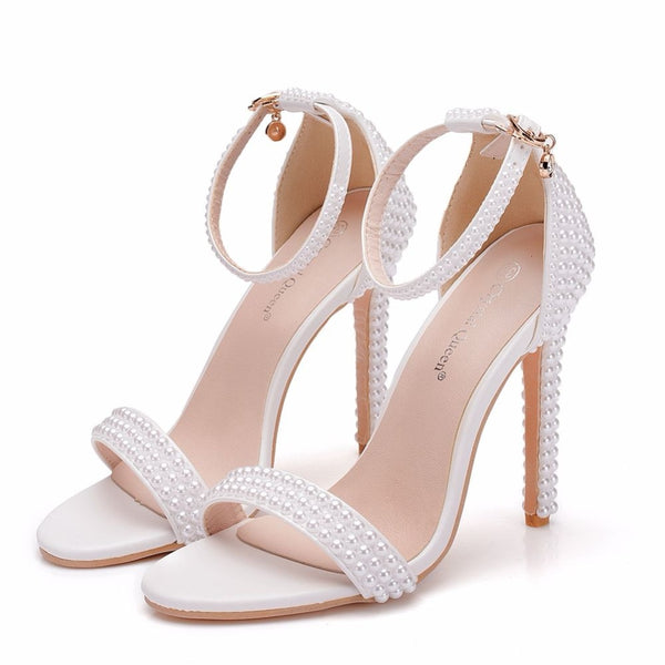 Ankle Strap Party  Open Toe High Heels Sandals