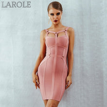 Load image into Gallery viewer, Spaghetti Strap Bustier Pink Mini Party Dress  - Available In More Colors