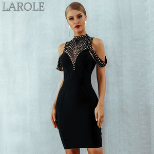 Beads BodyconCelebrity Evening Party Dresses