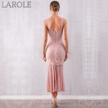 Load image into Gallery viewer, Sexy Sleeveless Spaghetti Strap Club Dress Elegant Celebrity Party Runway Maxi  Dress