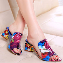 Load image into Gallery viewer, Women Flats Flower Elegant Peep Toe Sandals
