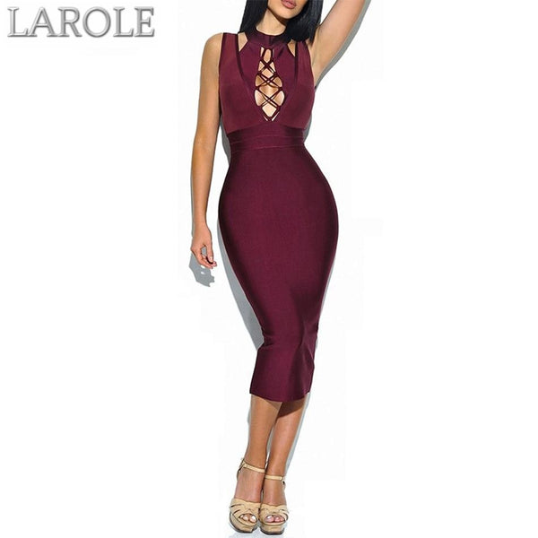 Cutout Chest Evening Party Dresses - More colors available