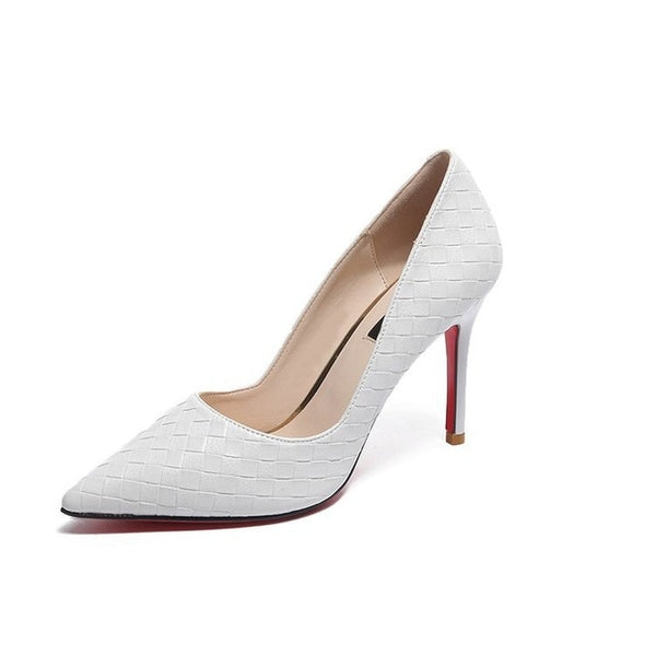Red Bottom  Pointed Thin Heels Slip-on heels  - More Colors available