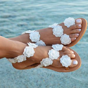 Bohemia Style Summer Flat Sandals Beach - More Colors available