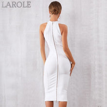 Load image into Gallery viewer, Elegant Tank Sexy Sleeveless Bodycon Apricot Midi Dress - More Colors Option Available!
