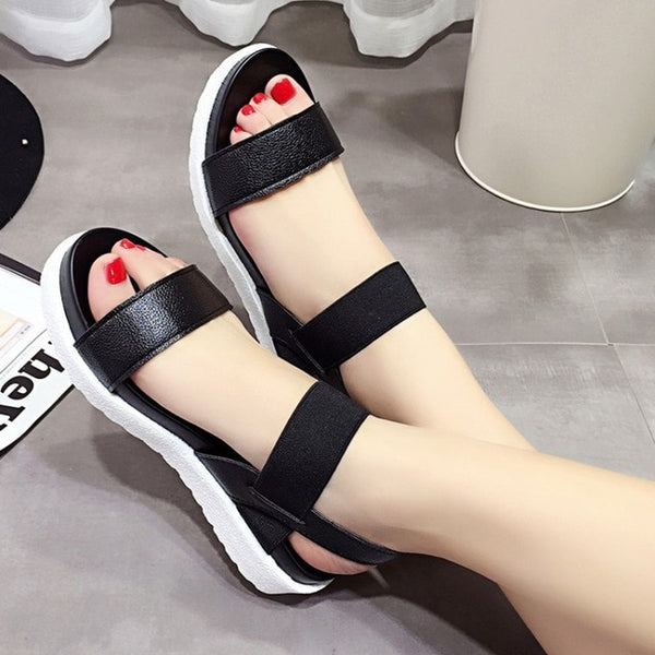 Summer peep-toe Roman sandals - More option available