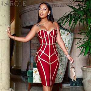 af531009157b2 Sexy Spaghetti Strap Sleeveless Club Hot Bodycon Bandage Dress- Available  in White, blue, red, yellow and black