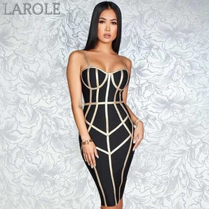 Sexy Spaghetti Strap Sleeveless Club Hot Bodycon Bandage Dress- Available in White, blue, red, yellow and black