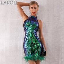 Load image into Gallery viewer, Elegant Sexy Sleeveless Sequin Midi Club Dress