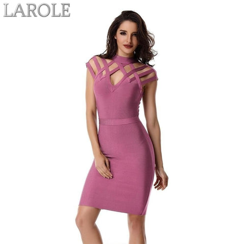 Summer 2019 Celebrity Bodycon Bandage Dress For Cocktail Events and Night Out