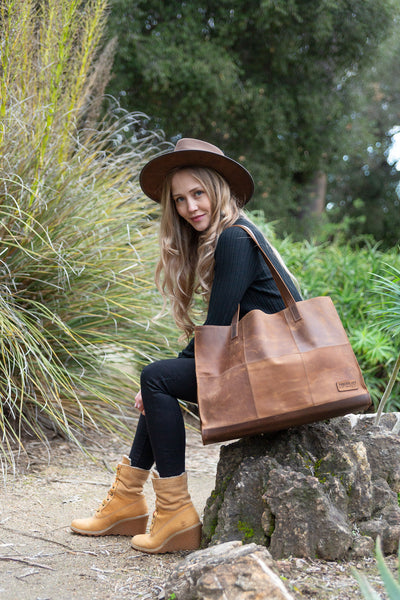 The Gianna Brown Tote