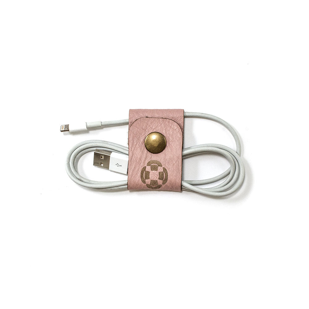 Pink Cable Holder