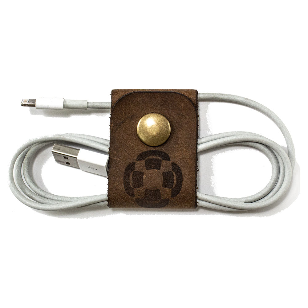 Brown Cable Holder