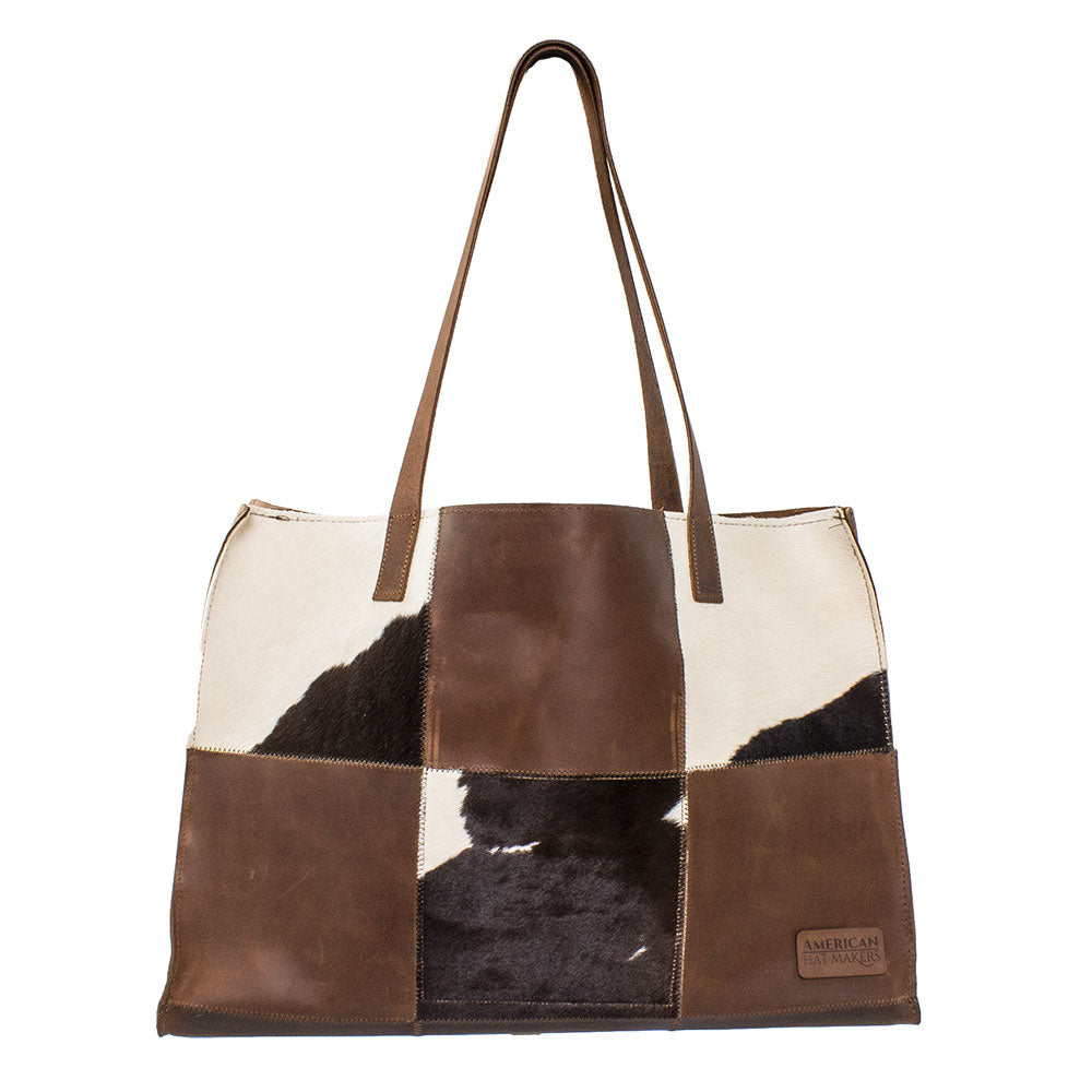 The Gianna Calf Tote