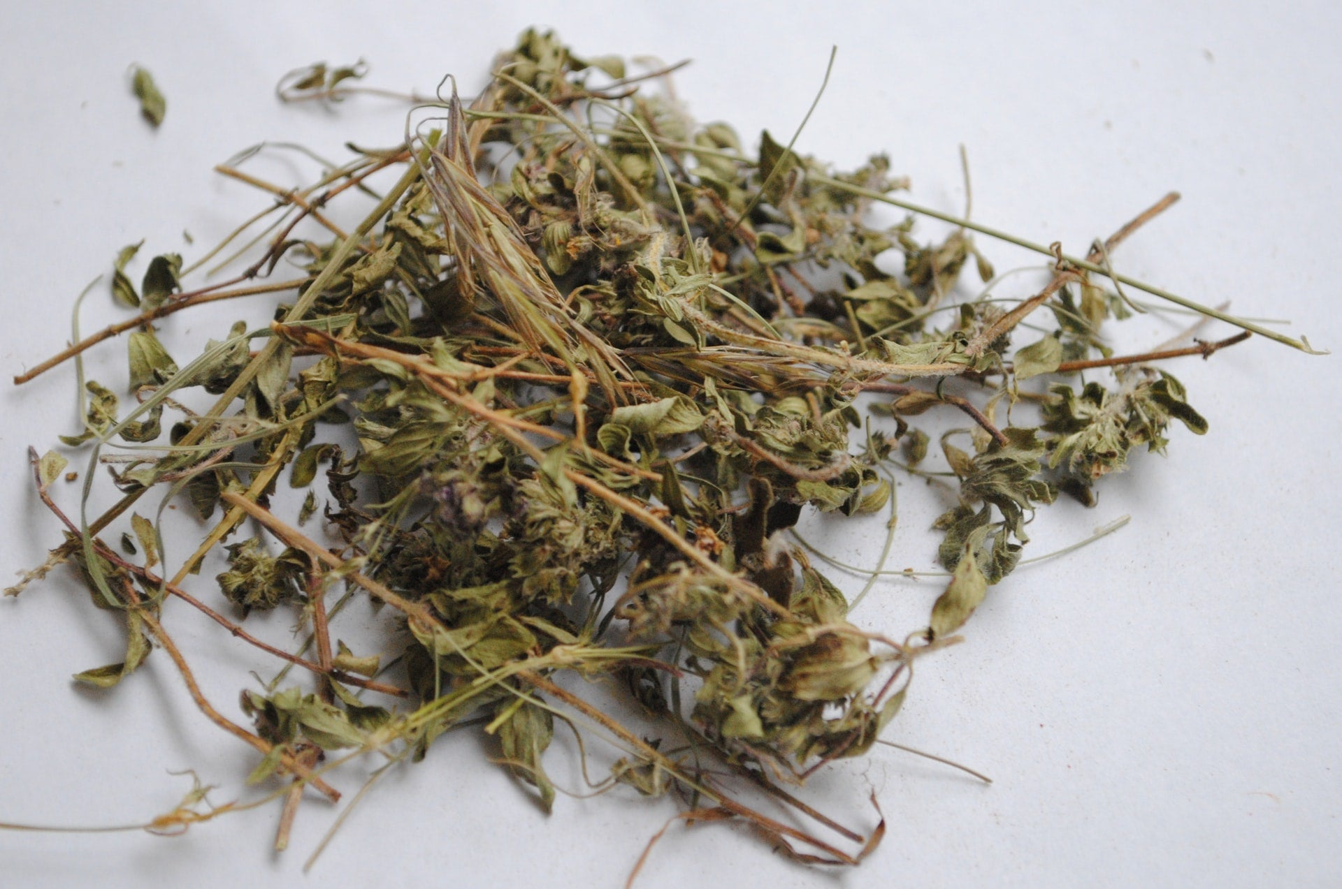 Dry Herbs and Tobacco