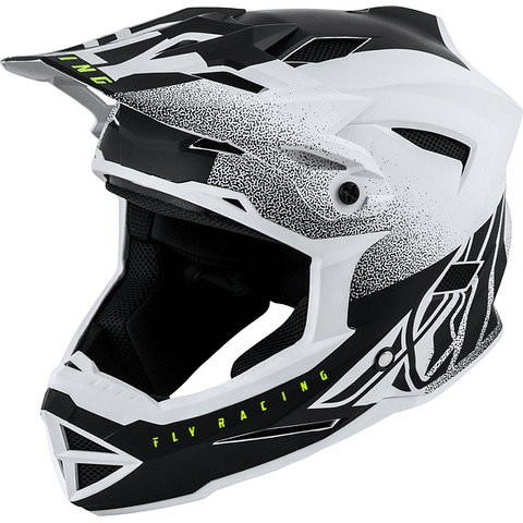 Casco Fly Default Dither WH/BK Adulto