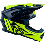 Casco Fly Default Dither Teal/YL Adulto