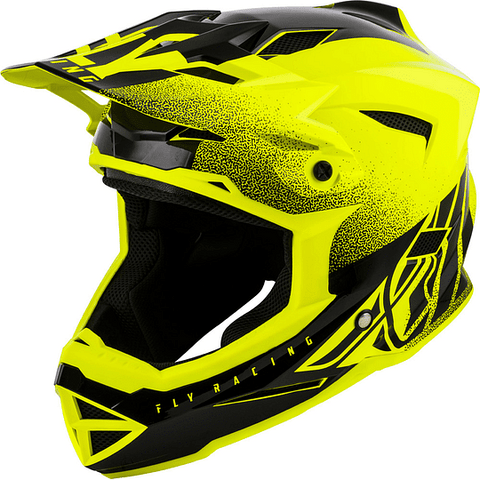 Casco Fly Default Dither Yellow Adulto