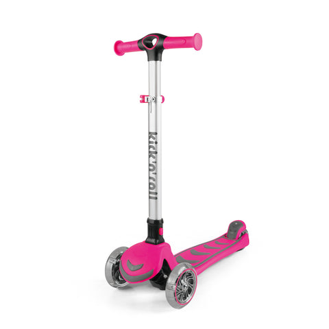 Scooter Infantil Kick and roll - ROSADO
