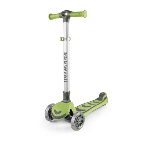 Scooter Infantil Kick and roll - Verde