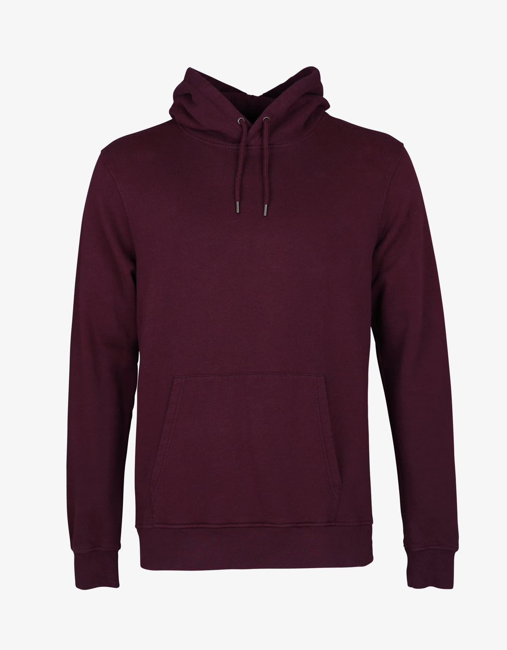 Colorful Standard Classic Organic Hood Hoodie Oxblood Red