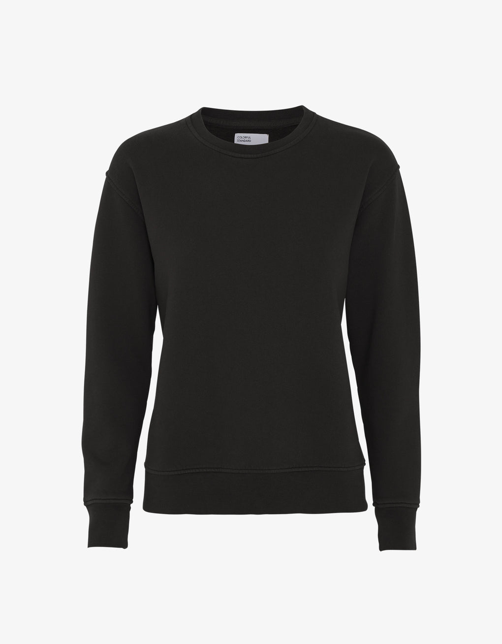 Colorful Standard Women Classic Organic Crew Women Crewneck Deep Black