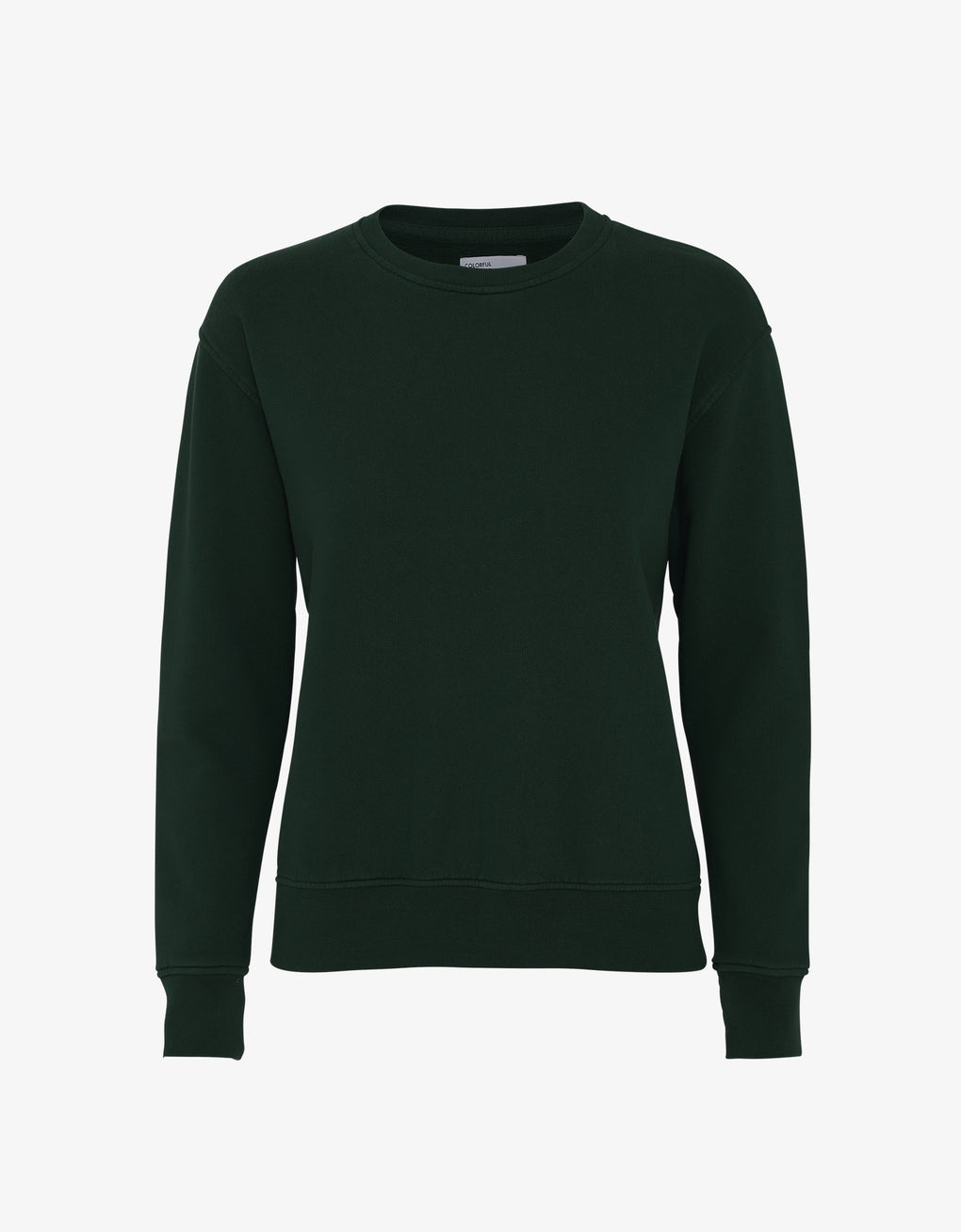 Colorful Standard Women Classic Organic Crew Women Crewneck Hunter Green