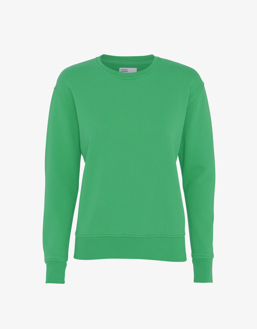 Colorful Standard Women Classic Organic Crew Women Crewneck Kelly Green