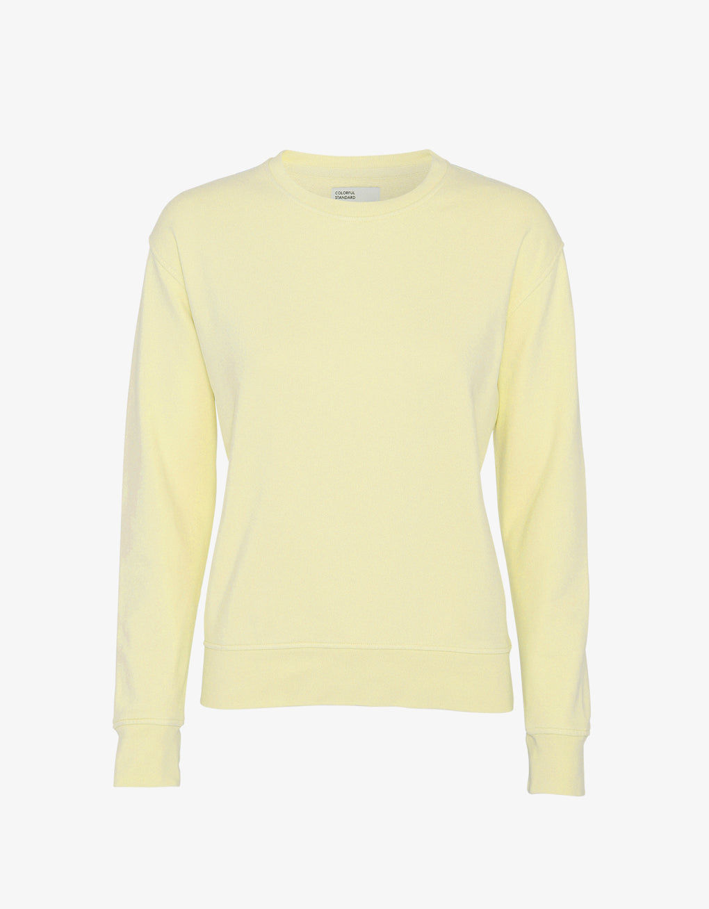 Colorful Standard Women Classic Organic Crew Women Crewneck Soft Yellow