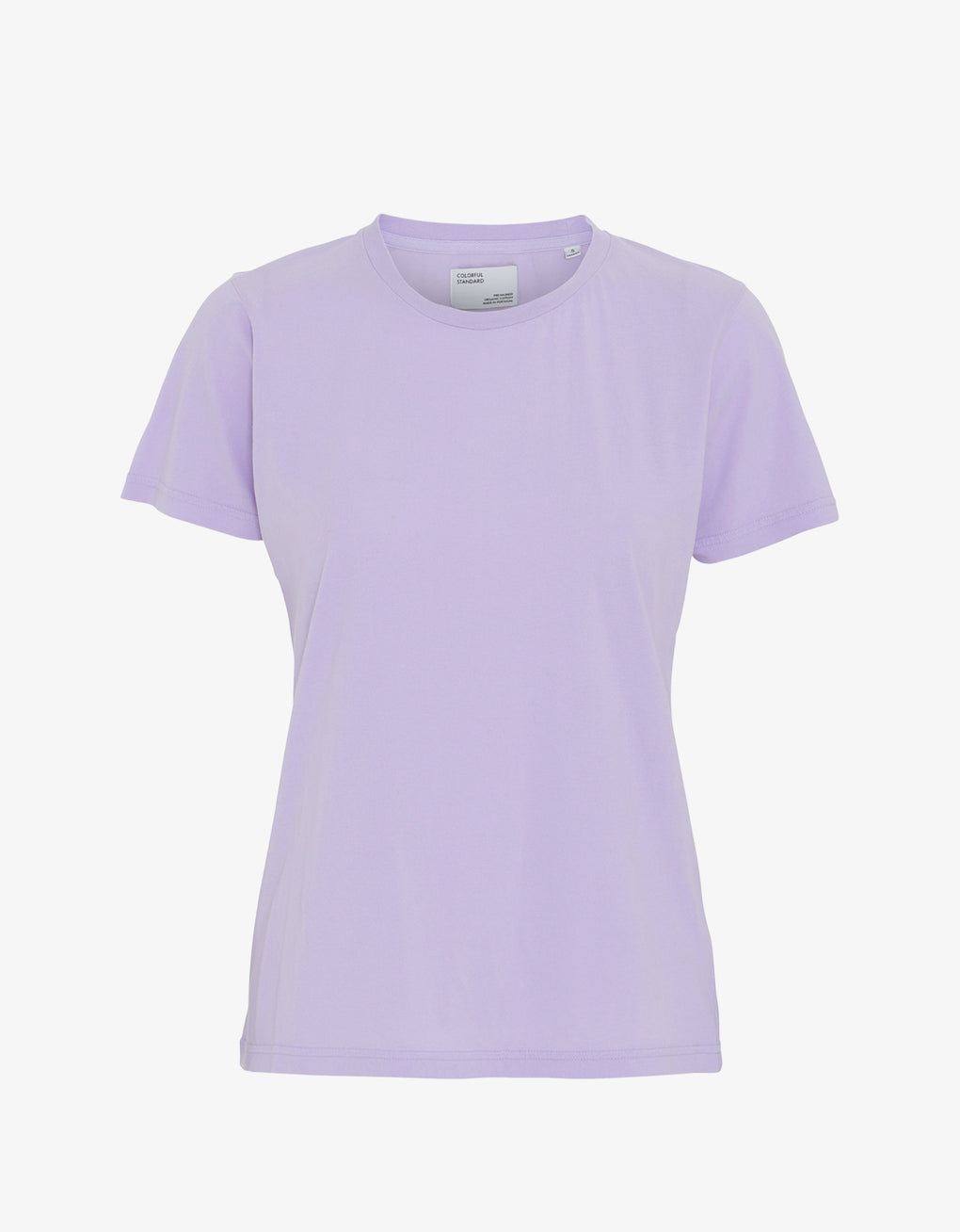 Colorful Standard Women Light Organic Tee Women T-shirt Soft Lavender