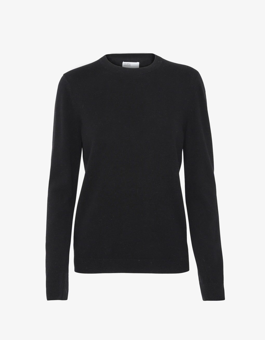 Colorful Standard Women Merino Wool Crew Women Merino Crewneck Deep Black