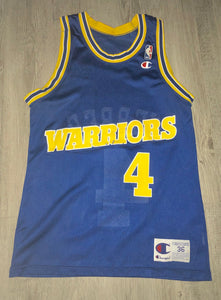 Chris Webber Golden State Warriors Champion Jersey, S