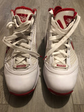 Load image into Gallery viewer, Nike Lebron James 7 White/Varsity Red, Size 10