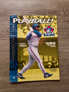 2000 Toronto Blue Jays Program