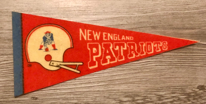 New England Patriots NFL Mini Pennant