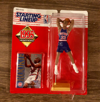 Grant Hill 1995 Rookie Starting Lineup Figure