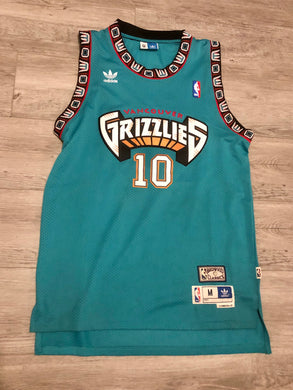 Mike Bibby Adidas Vancouver Grizzlies Jersey, M