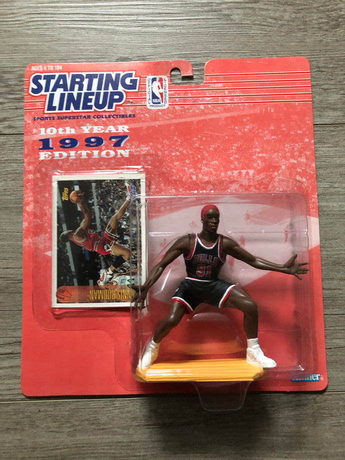Dennis Rodman 1997 Starting Lineup Figure