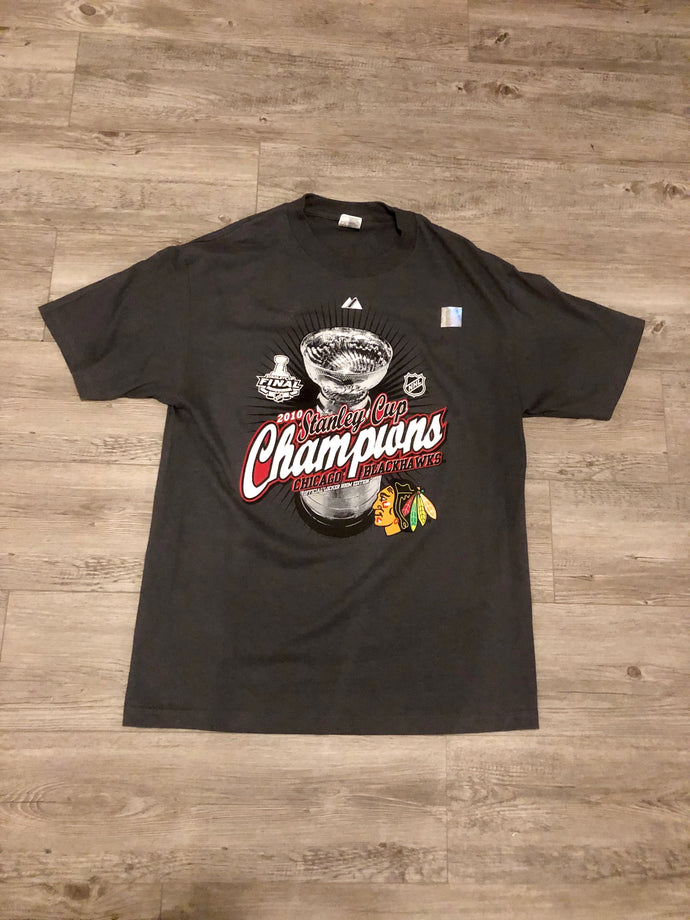 Chicago Blackhawks 2010 Stanley Cup t-shirt