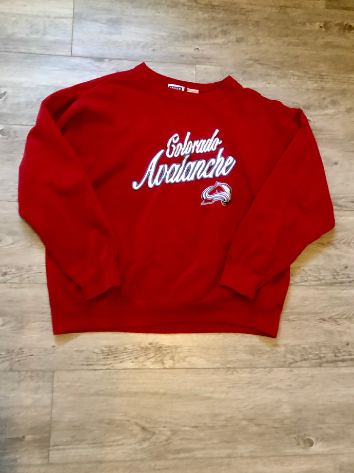Colorado Avalanche Crewneck, M