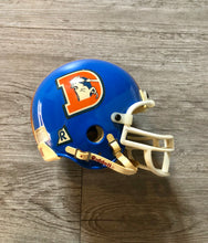 Load image into Gallery viewer, Vintage Denver Broncos Mini Helmet