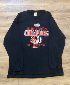 Boston Red Sox 2004 World Series Long Sleve T-shirt