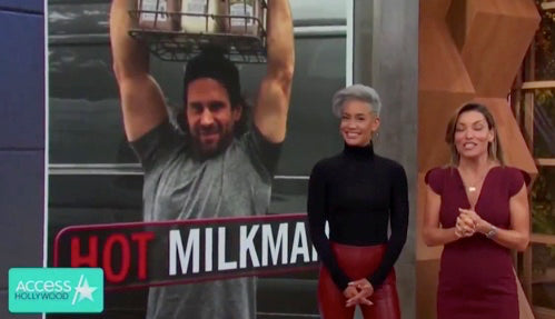 Manhattan Milk x Access Hollywood  @accessonline