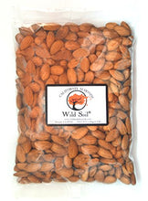 Load image into Gallery viewer, Wild Soil Almonds - Distinct and Superior to Organic, Steam Pasteurized, Probiotic, Raw 3LB Bag