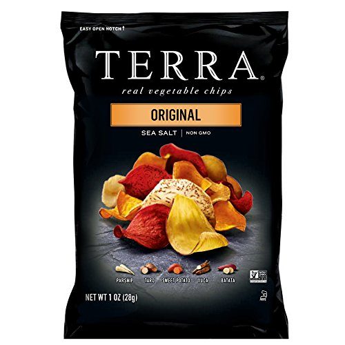 TERRA Original Chips with Sea Salt, 1 oz. (Pack of 24): Amazon.com: Grocery & Gourmet Food