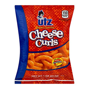 Utz Jumbo Snack Variety Box, Mix of Potato Chips, Cheese Curls, Popcorn, & Pretzels, 60 Count